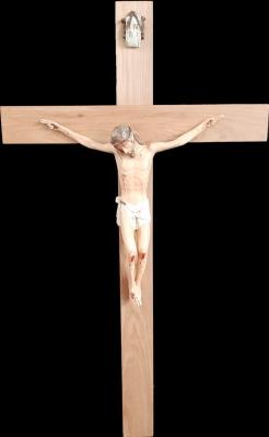 Crucifixo: 150 cm | Corpo: 070 cm - modelo 2