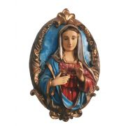 Medalhão Imaculado Coração de Maria - 40 cm