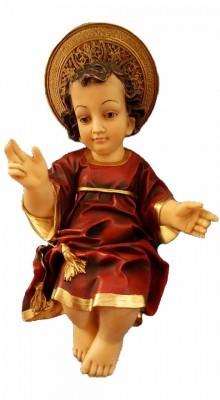 Menino Jesus com auréola - 30 cm