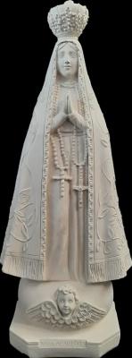Nossa Senhora Aparecida - 60 cm - Pó de Mármore