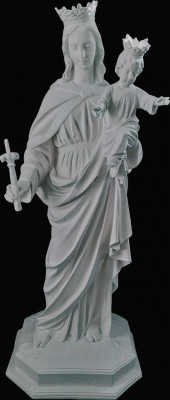 Nossa Senhora Auxiliadora - 110 cm (Pó de Mármore)