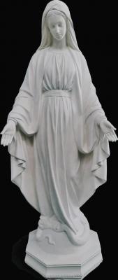 Nossa Senhora das Graças - 115 cm (Pó de Mármore)