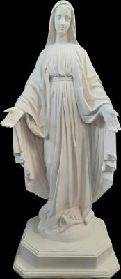 Nossa Senhora das Graças - 80 cm - Pó de mármore