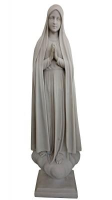 Nossa Senhora de Fátima - 110 cm - Pó de mármore