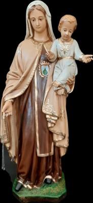 Nossa Senhora do Carmo - 60 cm - Envelhecida.