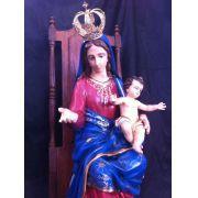 Nossa Senhora do Rosário da Pompéia - 100 cm