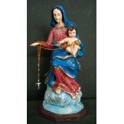 Nossa Senhora do Rosário da Pompéia - 30 cm
