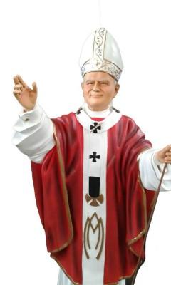 Papa João Paulo II - 100 cm