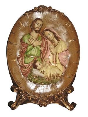 Placa Sagrada Família - 42 cm