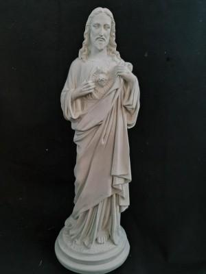 Sagrado Coração de Jesus (Pó de Mármore) - 60 cm