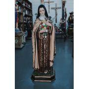 Santa Terezinha (bordada) - 120 cm