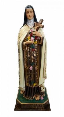 Santa Terezinha - 100 cm - Bordada