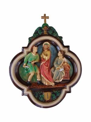 Via Sacra M - 50 cm x 65 cm