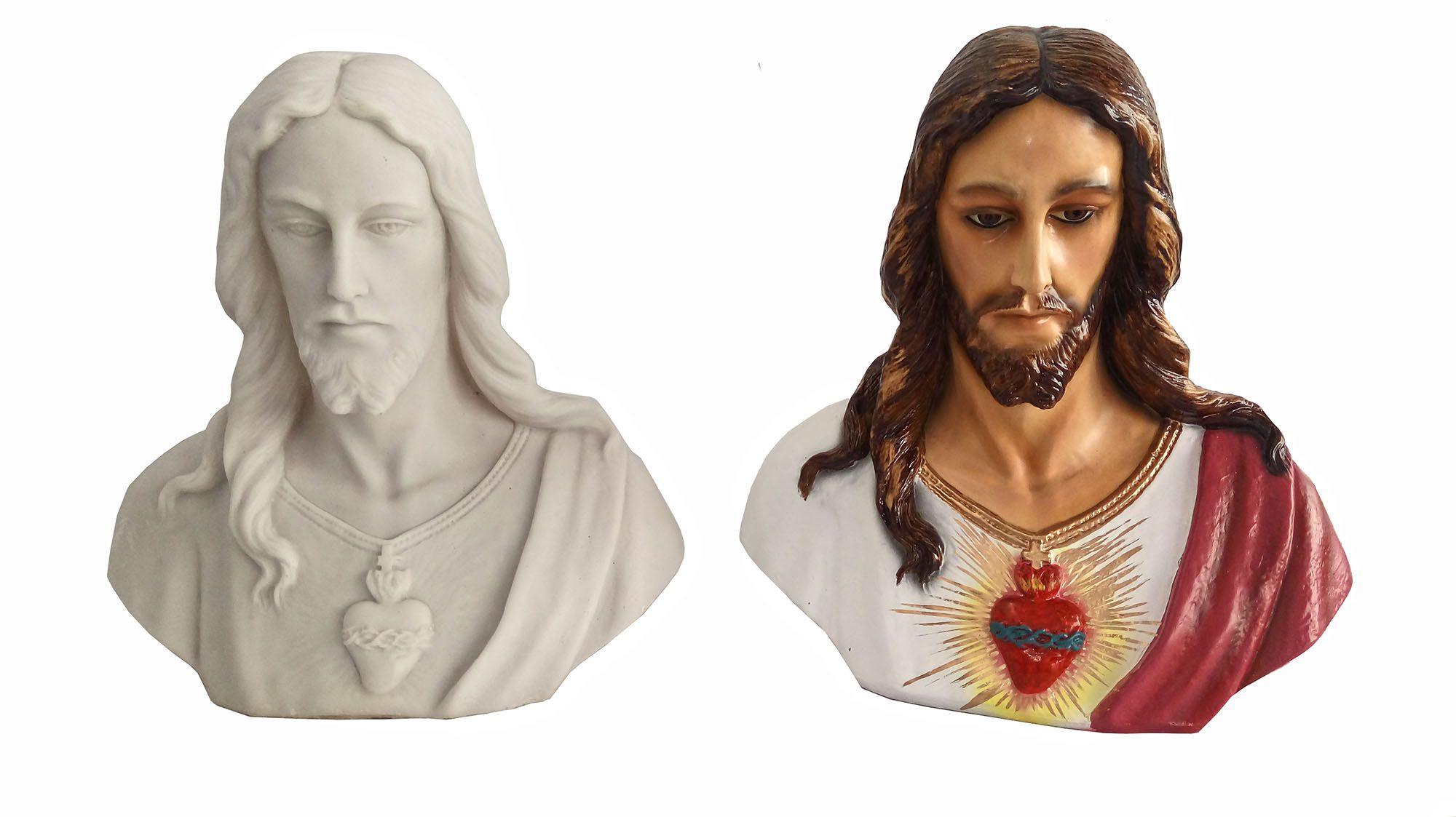 Busto de Jesus - 35 cm