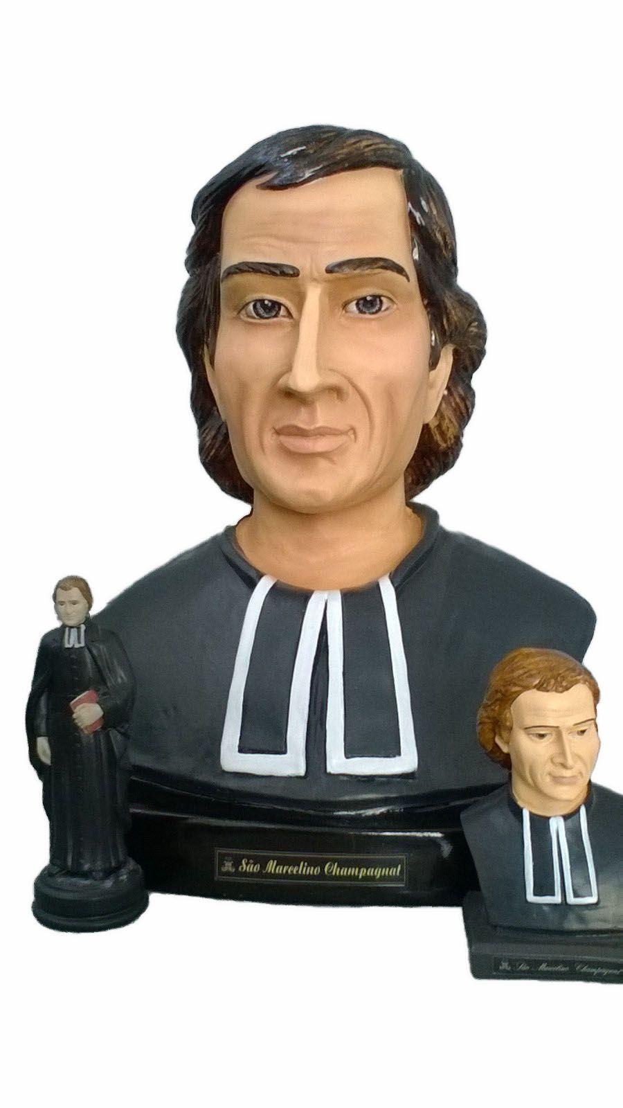 Busto de São Marcelino Champagnat - 60 cm