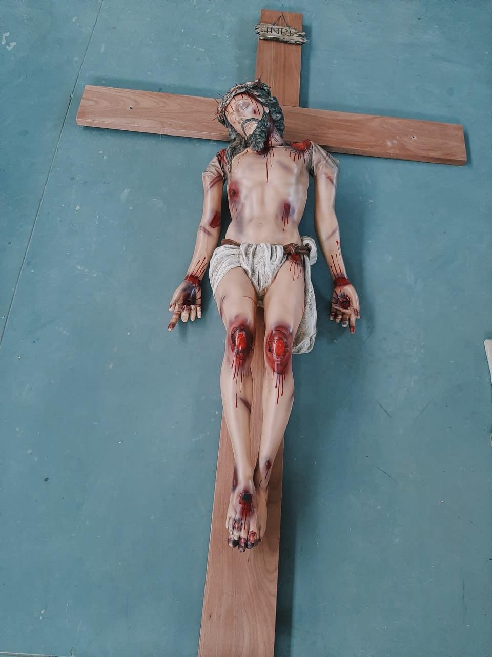 Cristo Articulado - 180 cm de corpo  - Nosso Senhor Morto