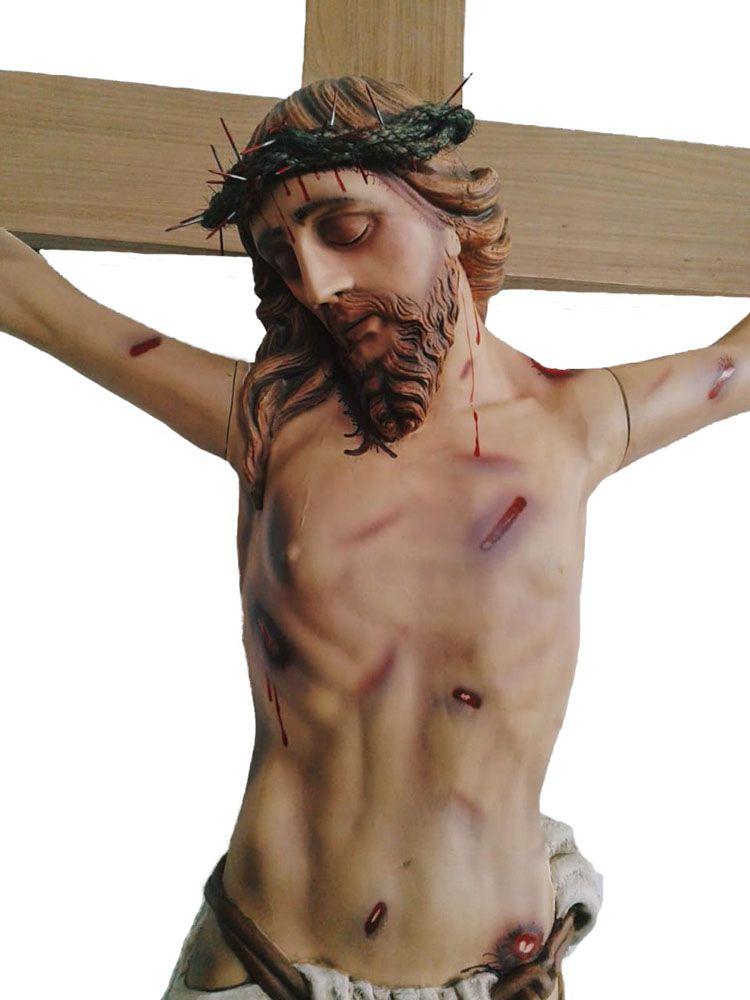 Crucifixo: 330 cm   Corpo: 180 cm   Cruz: 330 cm