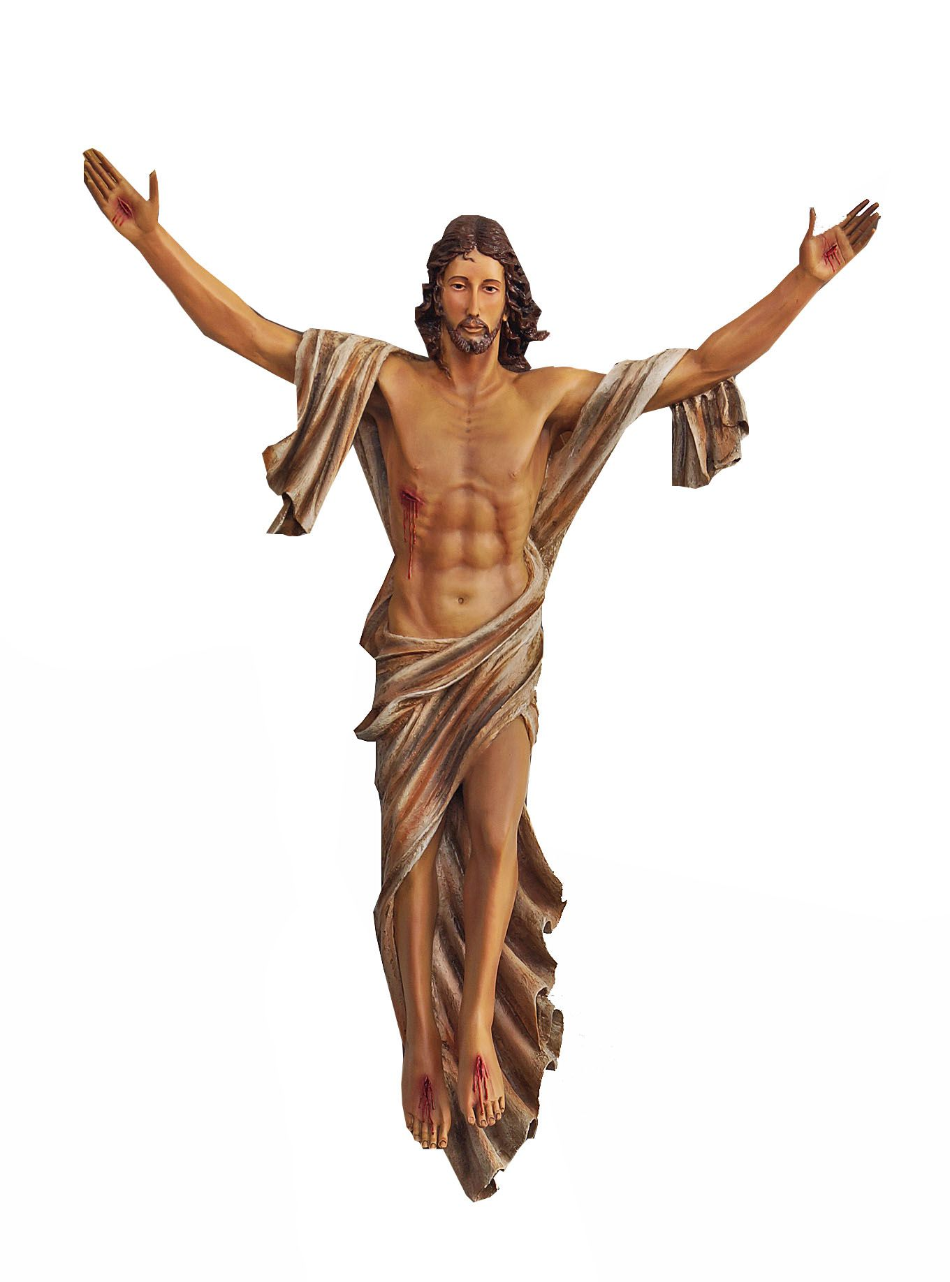 Cristo Ressuscitado Parede - 100 cm