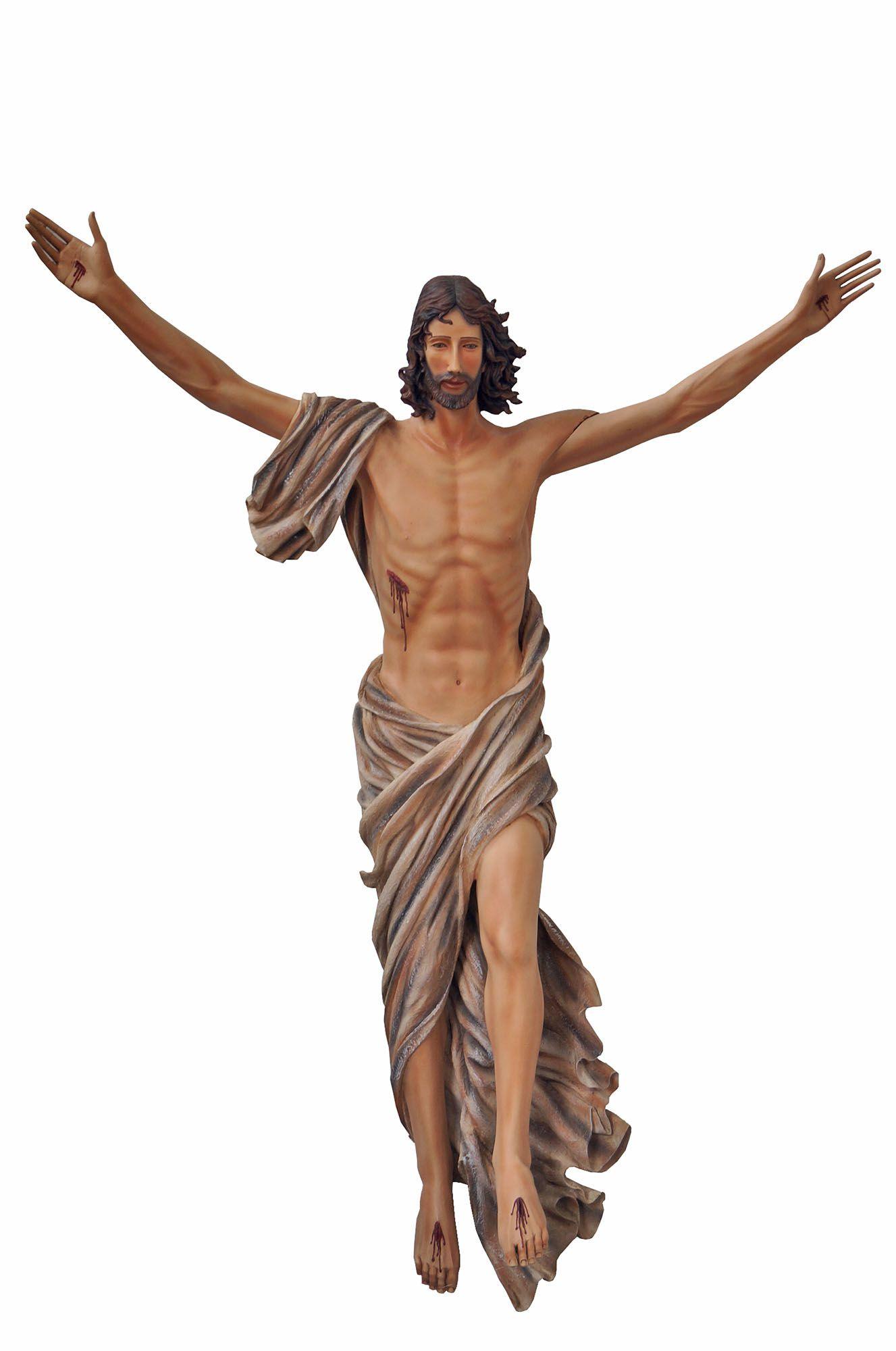 Cristo Ressuscitado Parede - 150 cm