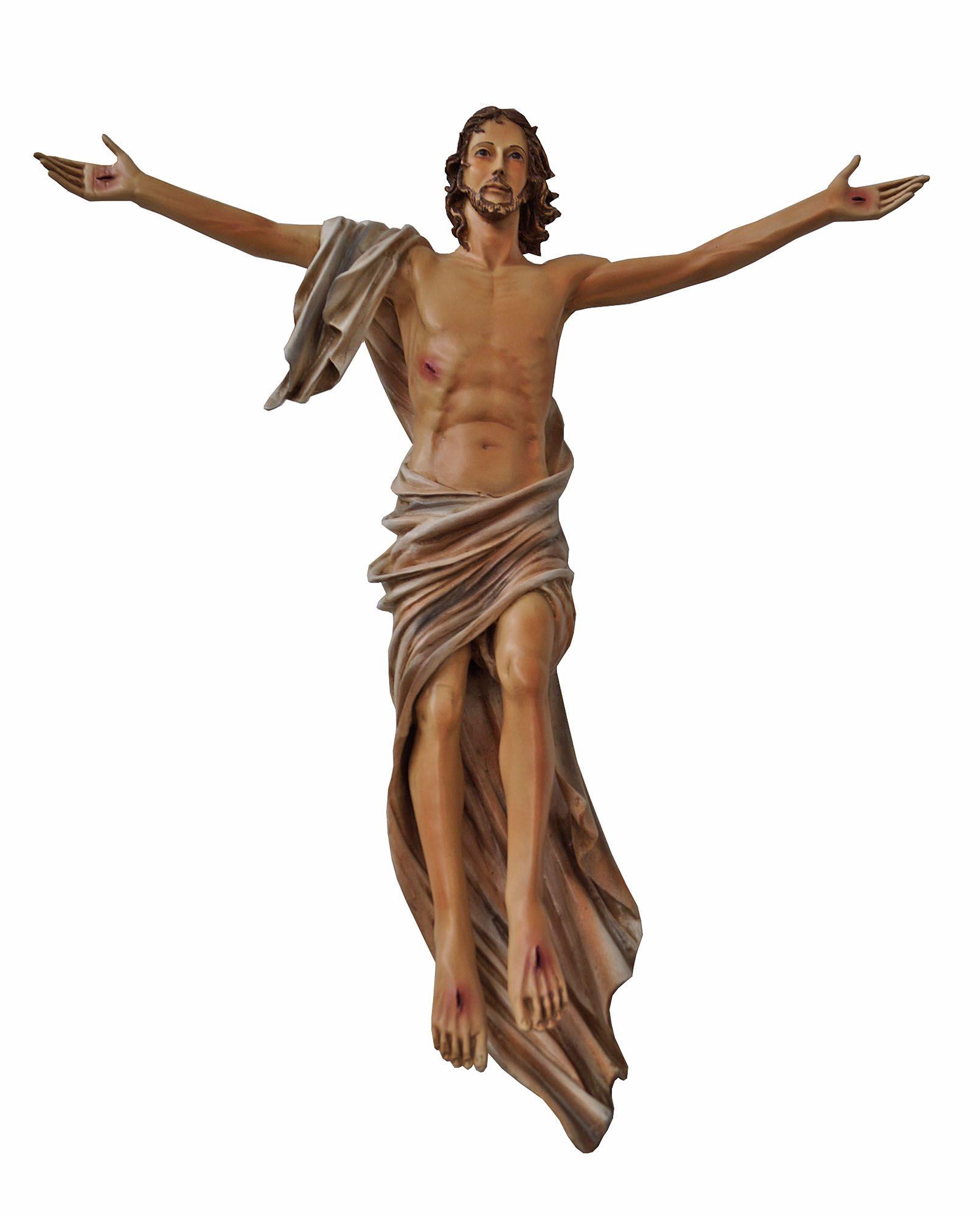 Cristo Ressuscitado Parede - 060 cm