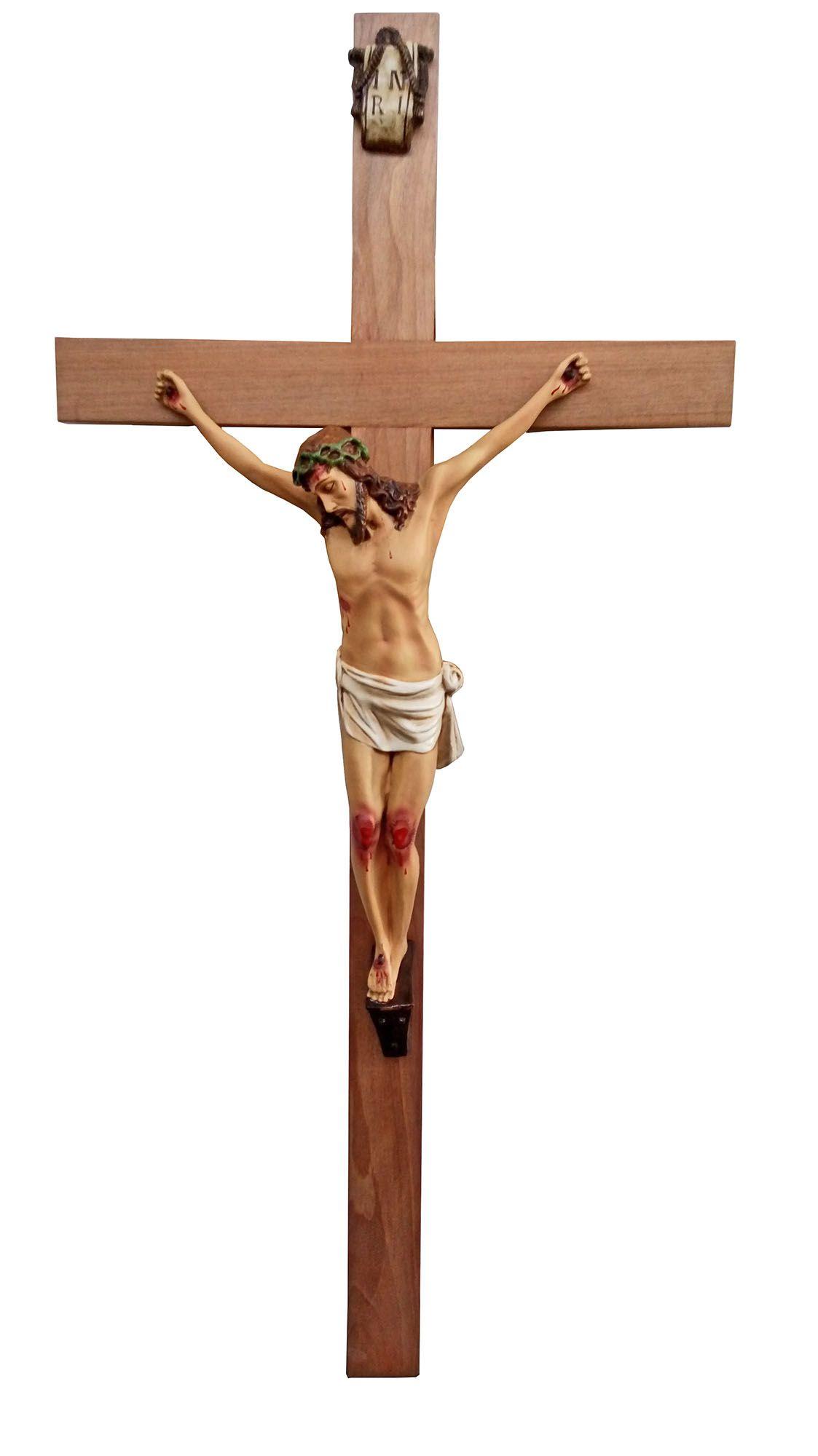 Crucifixo 140 cm - corpo 70 cm
