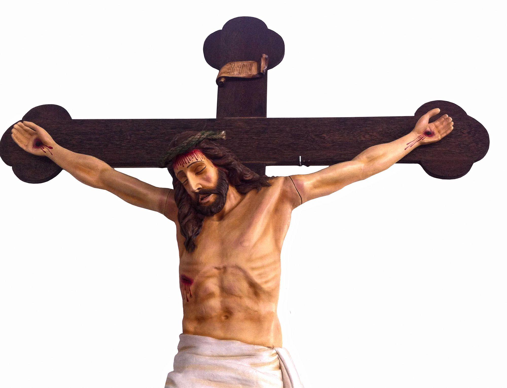 Crucifixo 320 cm - corpo 180 cm