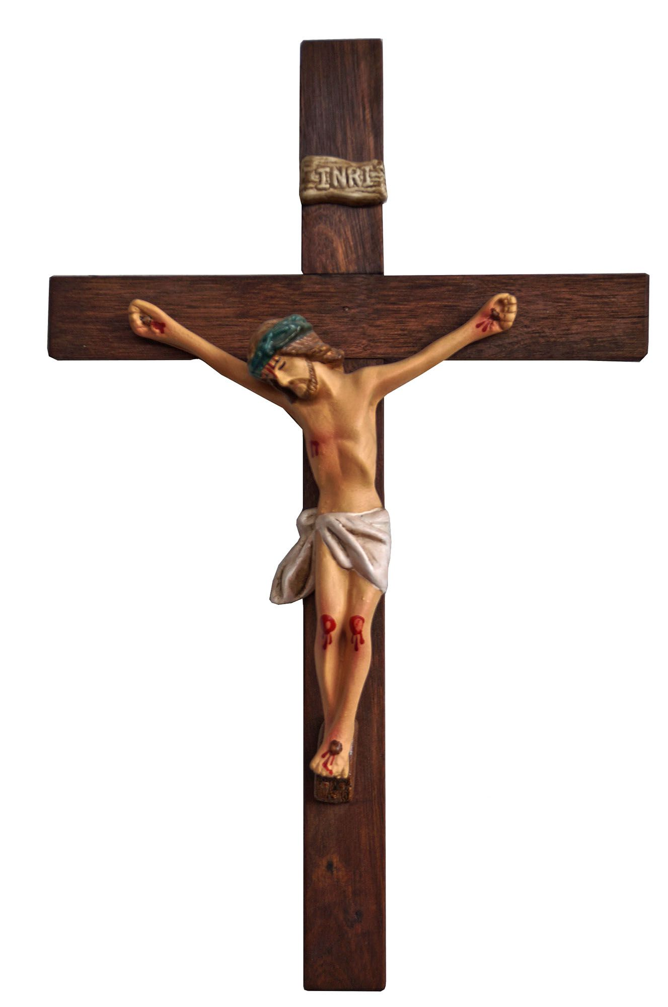 Crucifixo: 037 cm | Corpo: 022 cm
