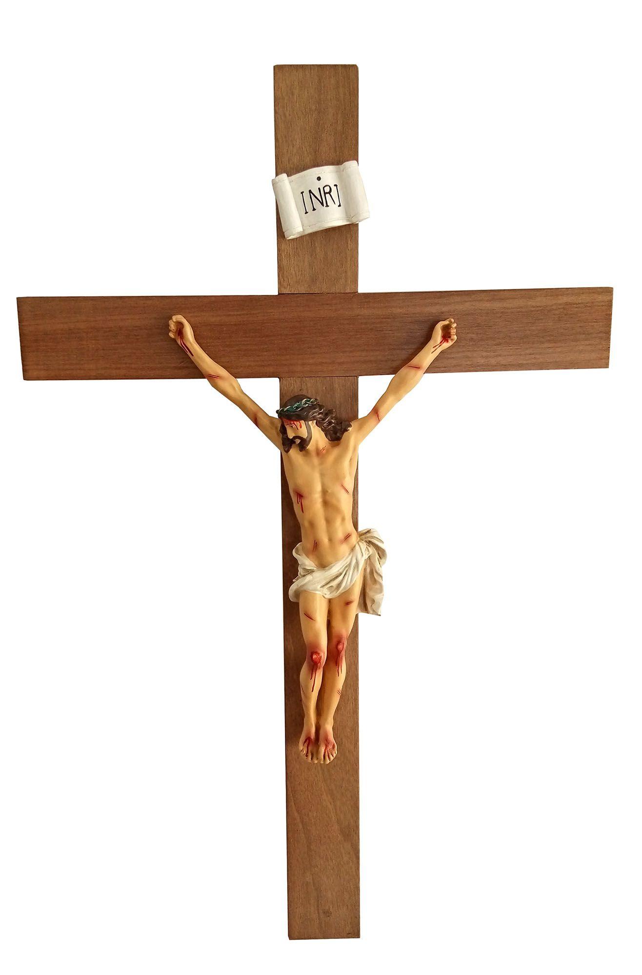 Crucifixo da agonia 70 cm - corpo 38 cm