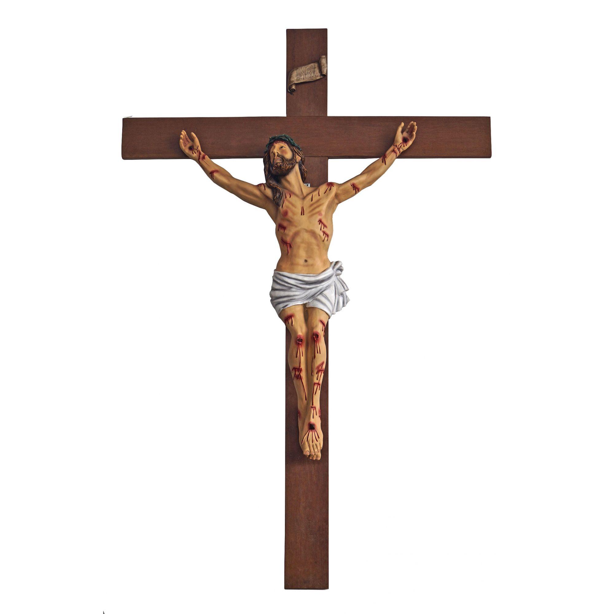 Crucifixo da agonia 250 cm - corpo 140 cm
