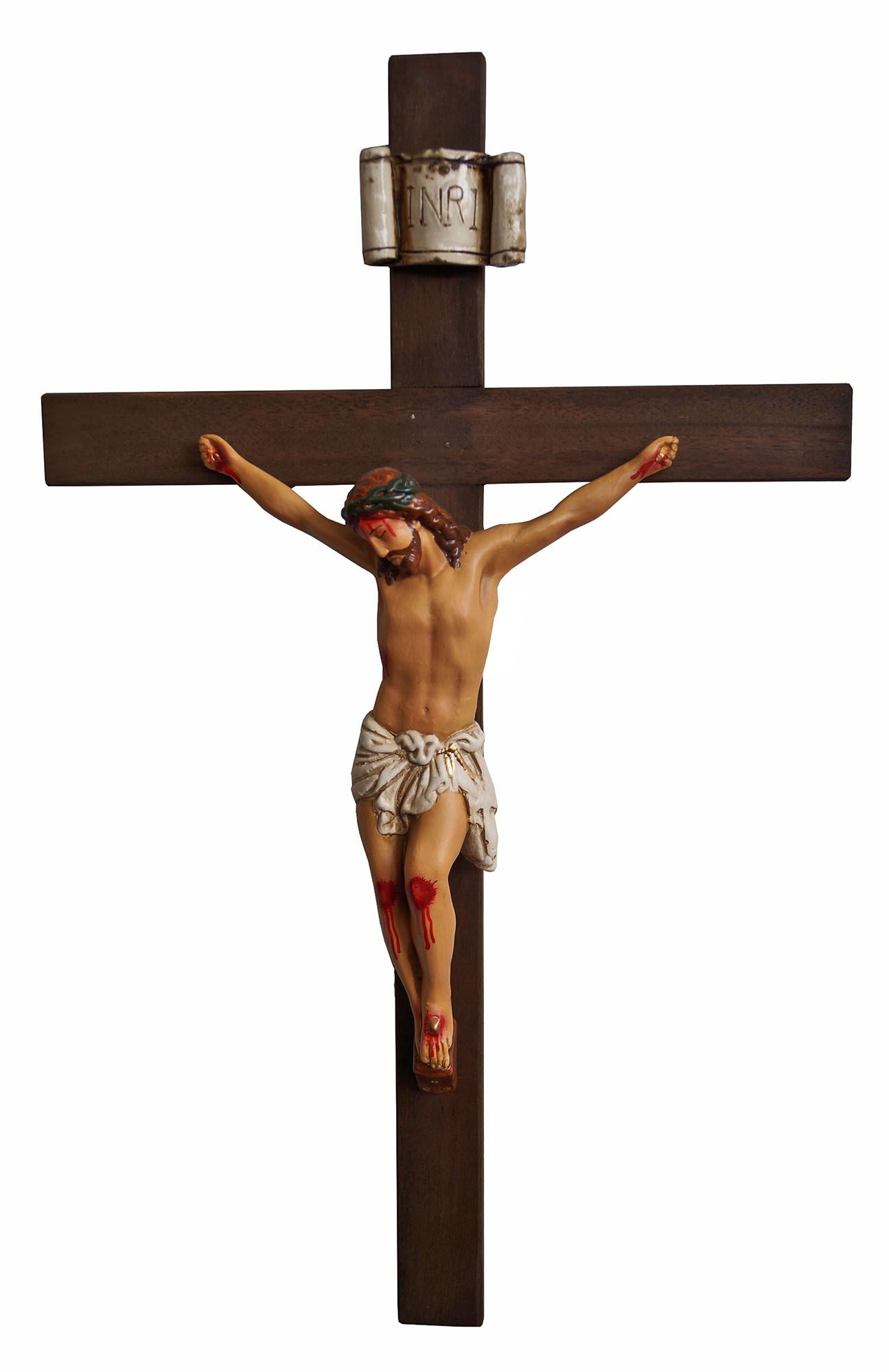 Crucifixo: 052 cm | Corpo: 030 cm