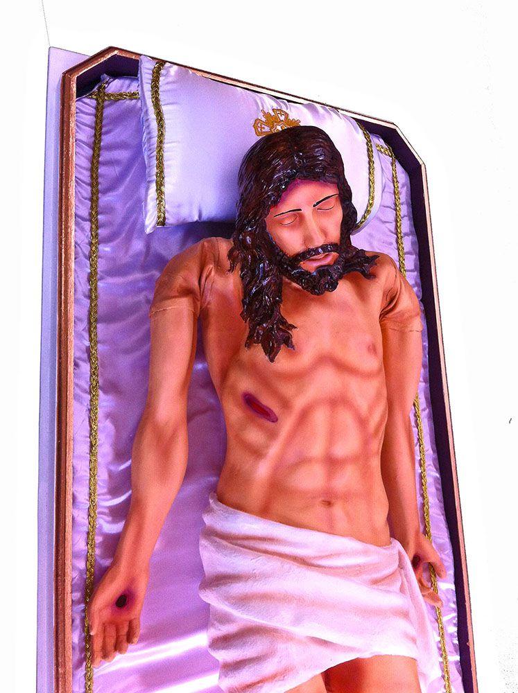Jesus Morto na Esquife (Articulado) - 140 cm