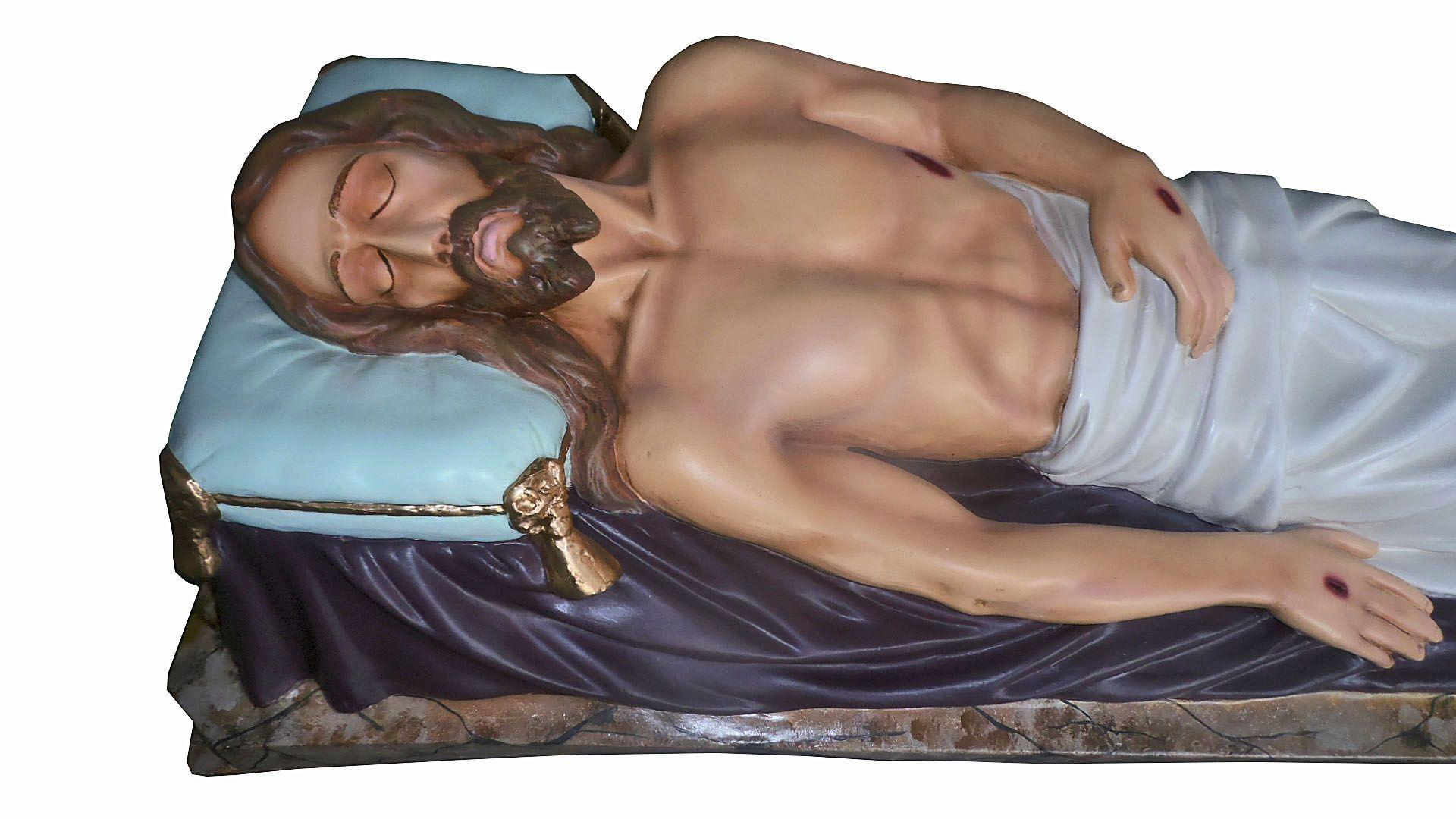 Jesus Morto na Esquife - 140 cm