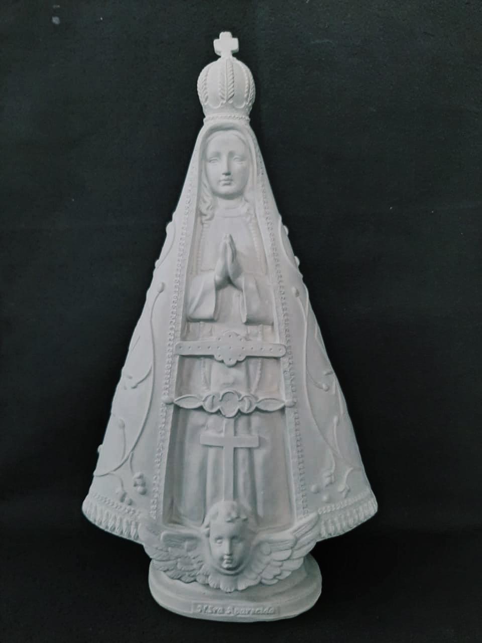Nossa Senhora Aparecida (Pó de Mármore) - 50 cm