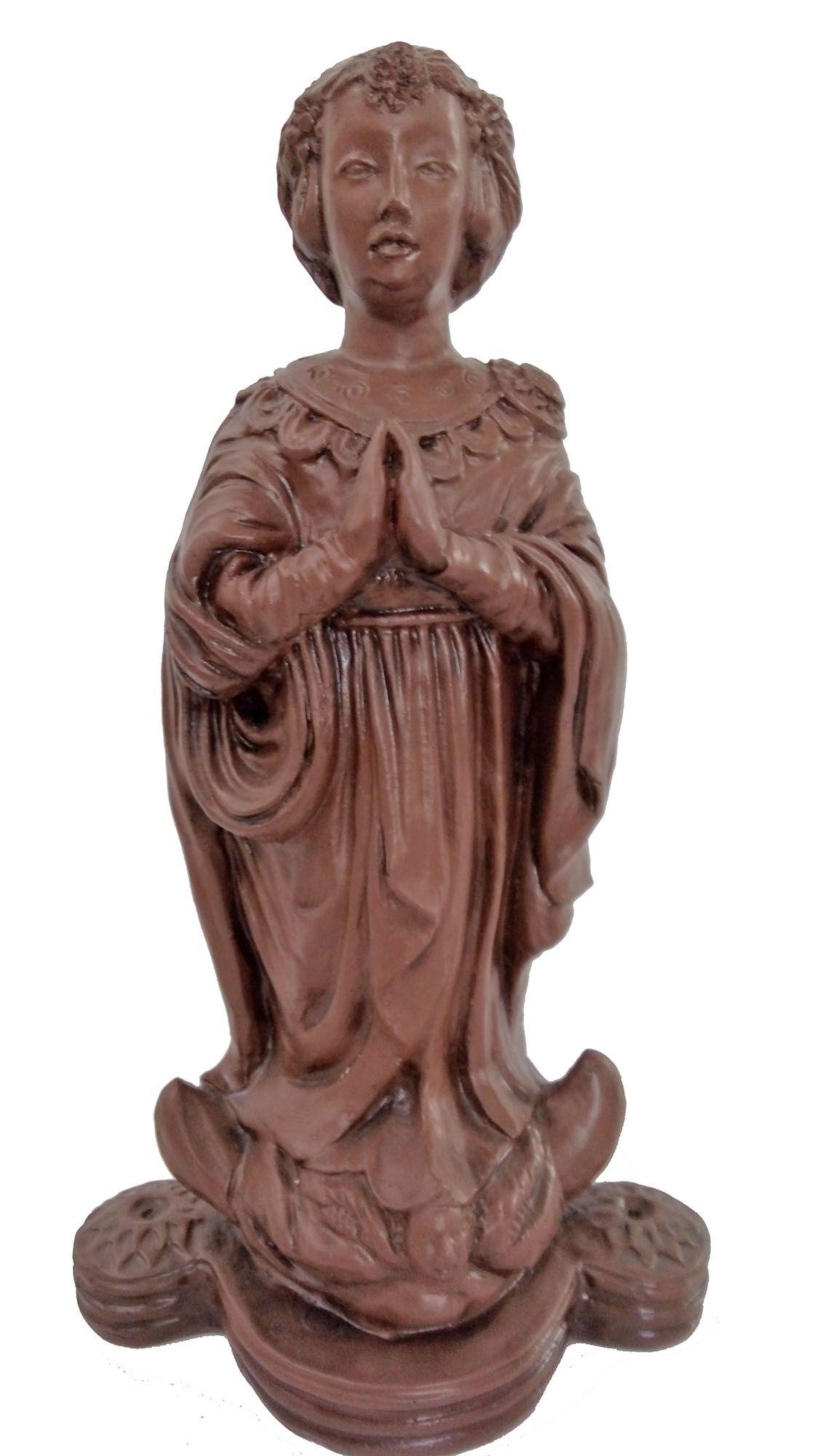 Nossa Senhora Aparecida (sem manto) - 38 cm