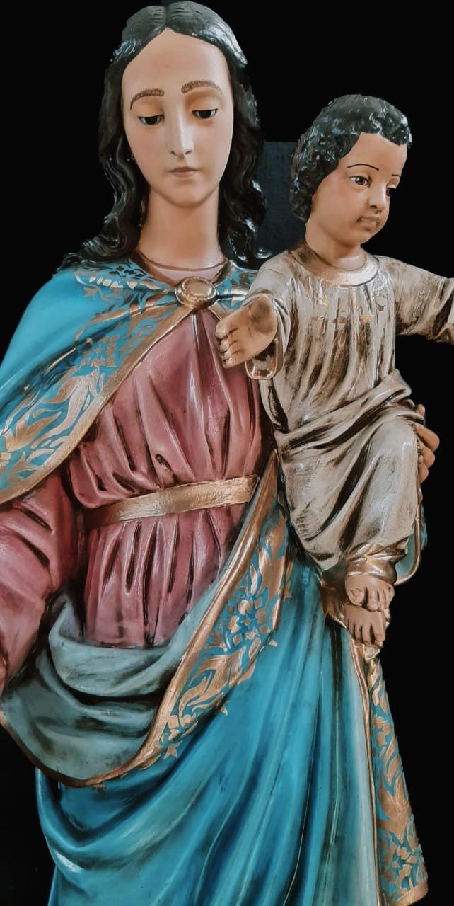 Nossa Senhora Auxiliadora (Envelhecida) - 100 cm