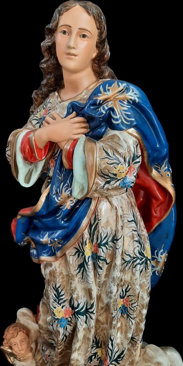 Nossa Senhora da Conceição - 100 cm - Bordada