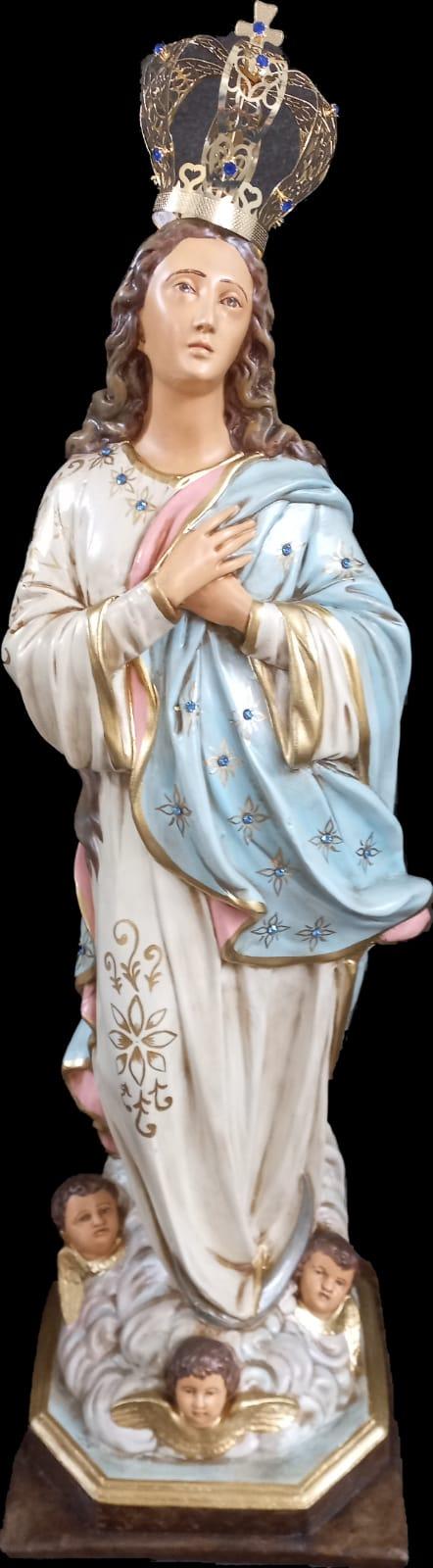 Nossa Senhora da Conceição - 80 cm (envelhecida)