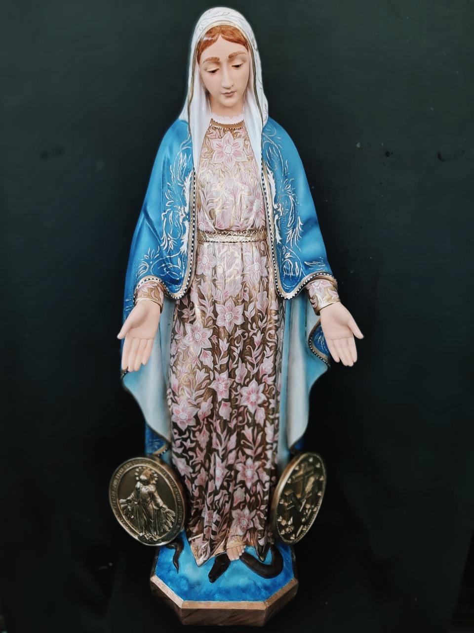 Nossa Senhora da Medalha Milagrosa - 120 cm
