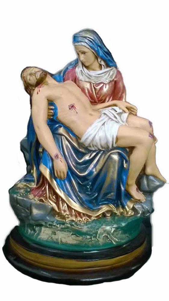 Nossa Senhora da Piedade (envelhecida) - 35 cm