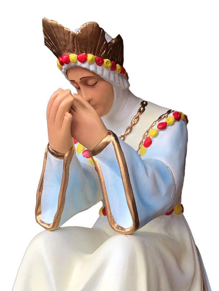 Nossa Senhora de Salete Sentada - 060 cm