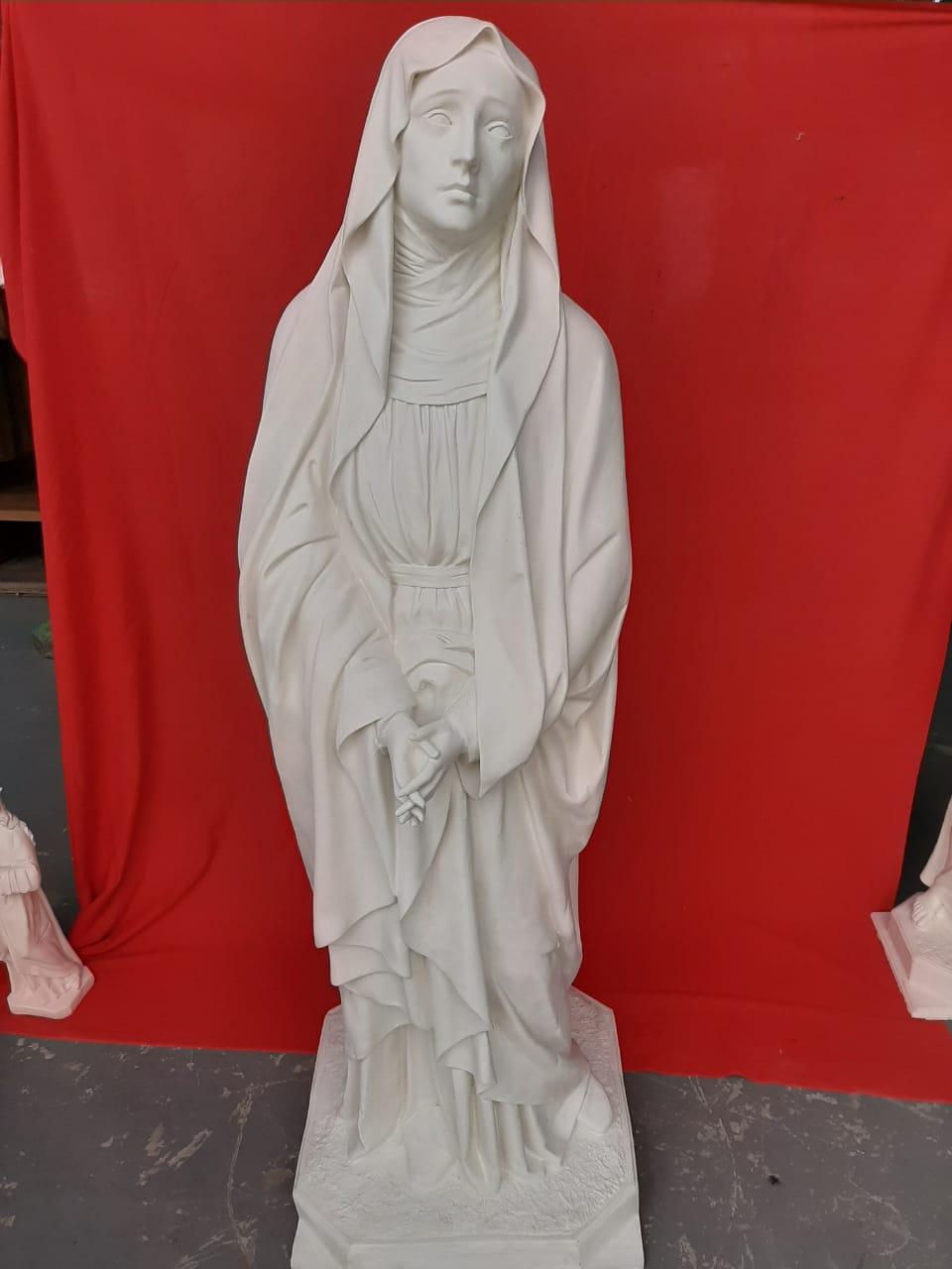 Nossa Senhora das Dores - 160 cm - Pó de mármore