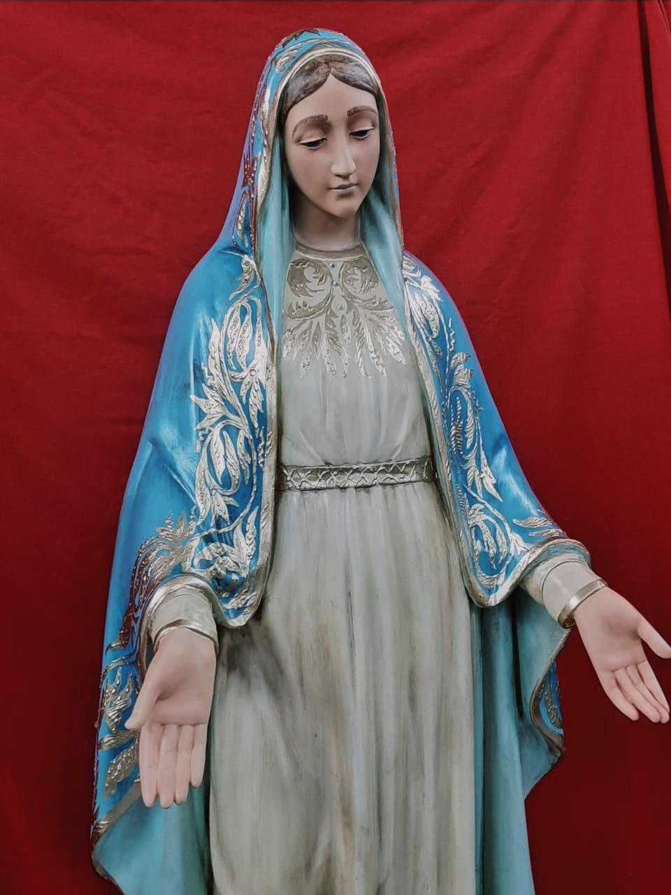 Nossa Senhora das Graças - 120 cm - Envelhecida