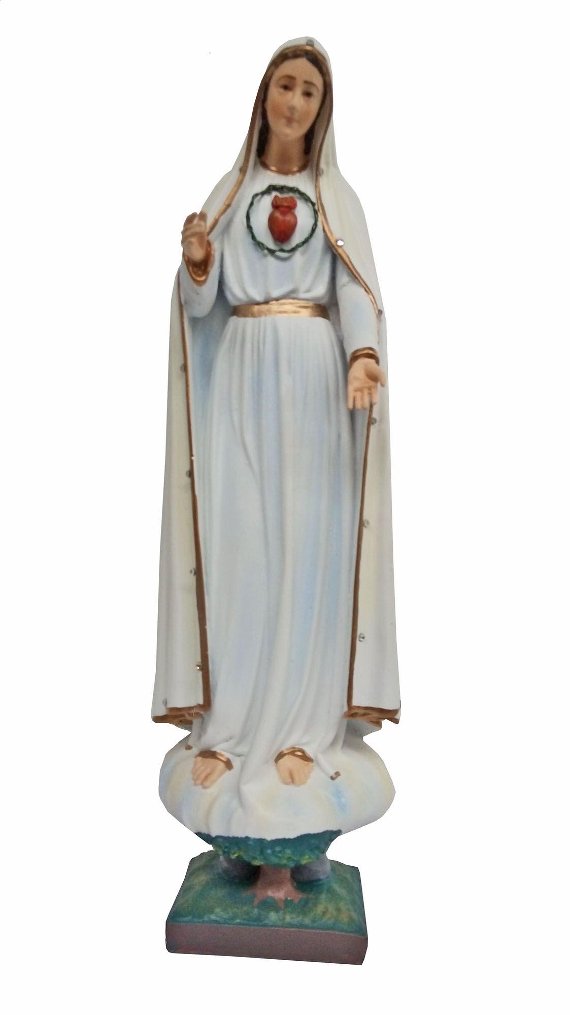 Nossa Senhora de Fátima (Imaculado Coração) - 50 cm