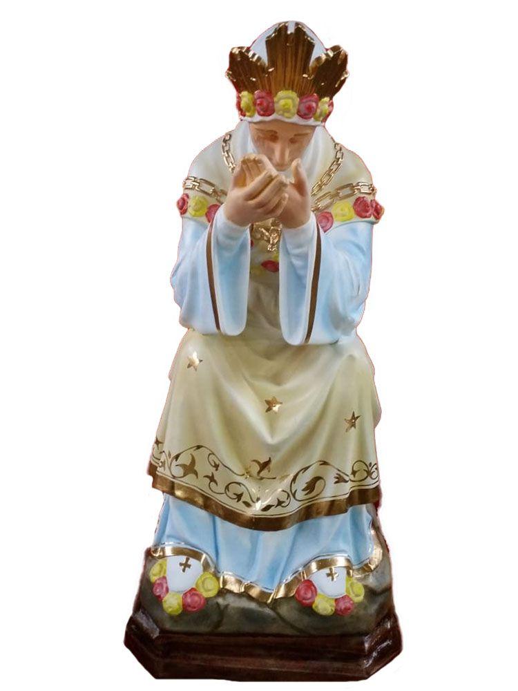 Nossa Senhora de Salete  Sentada - 110 cm