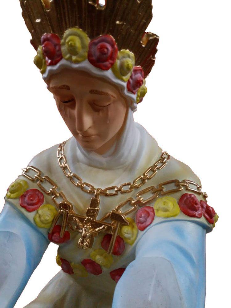 Nossa Senhora de Salete  Sentada - 150 cm