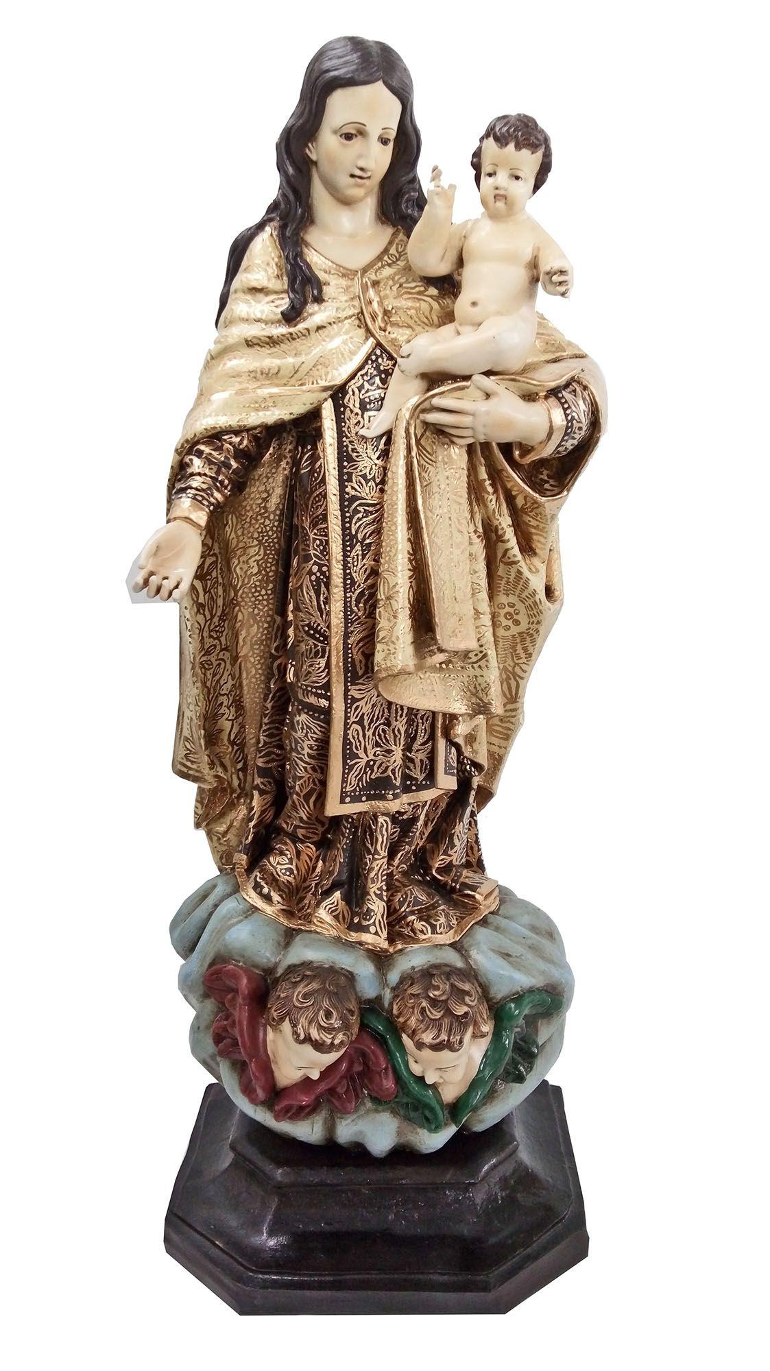 Nossa Senhora do Carmo Barroca - 70 cm