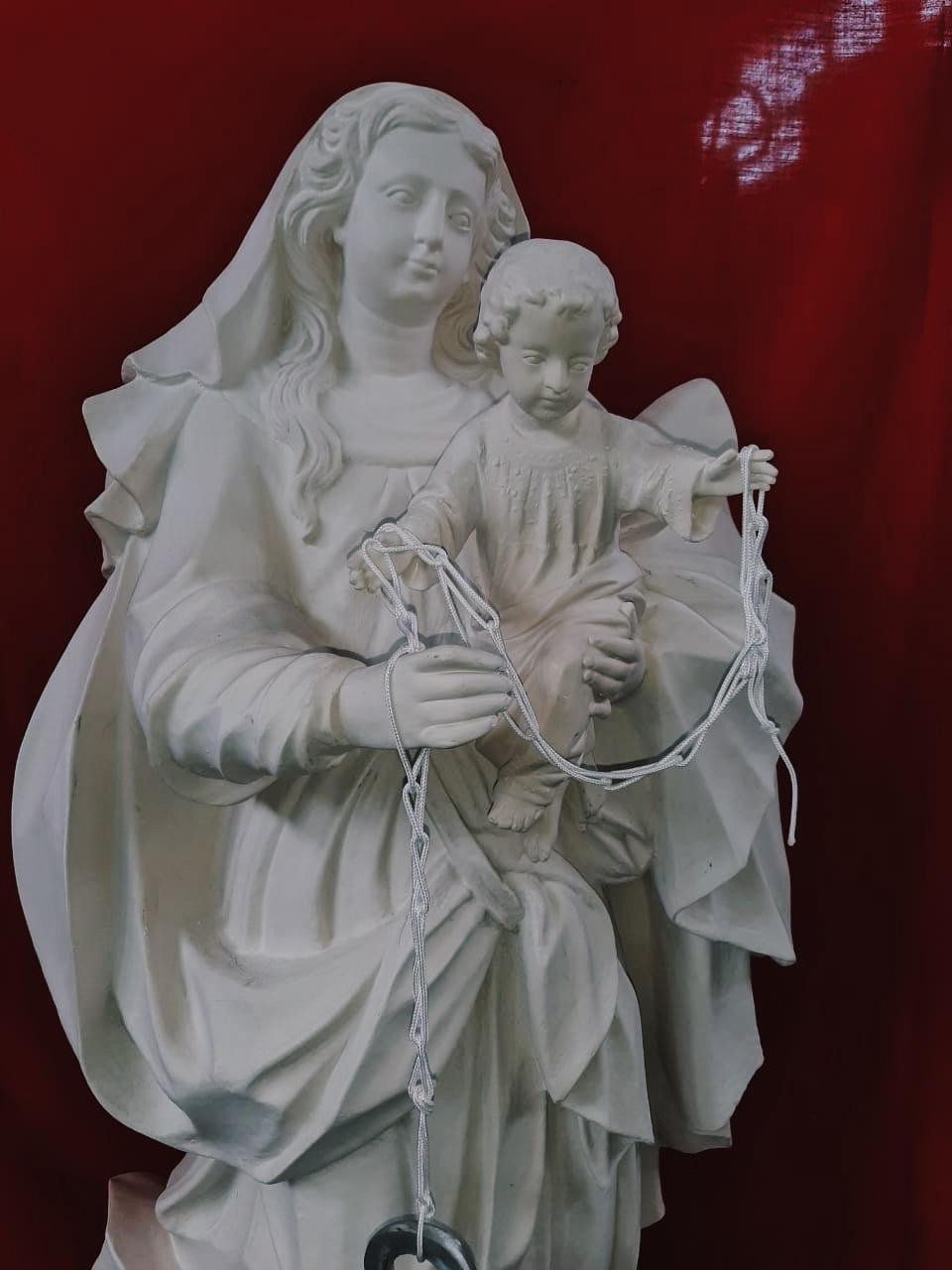 Nossa Senhora dos Navegantes (Pó de Mármore) - 140 cm