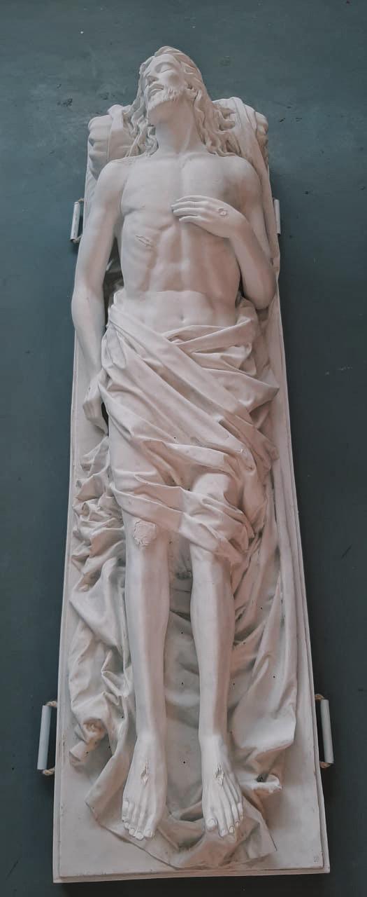 Nosso Senhor Morto - 200 cm (pó de mármore)