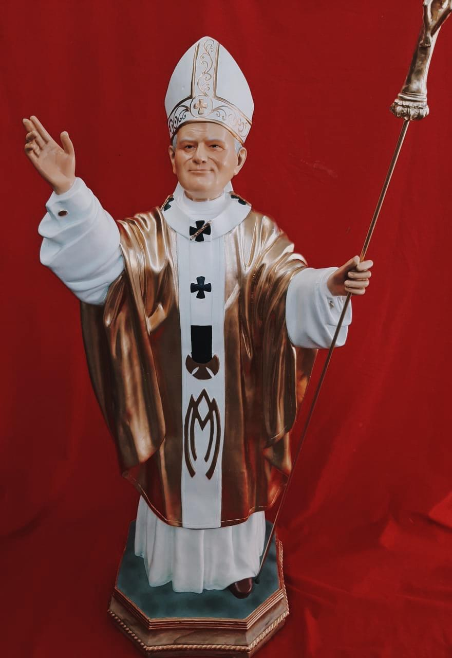 Papa João Paulo II - 100 cm (modelo 02)