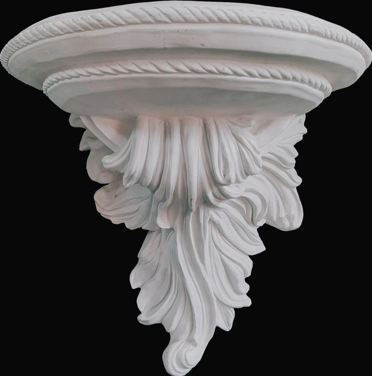 Peanha Barroca (pó de mármore) - 50 cm